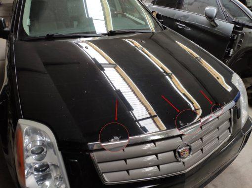 Motorkap zwart Cadillac SRX (2004-2009) - GM (89023030)